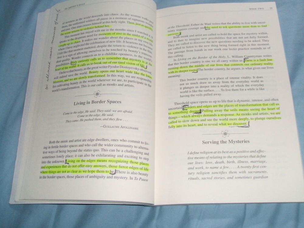 Writing in Margins (2/2)